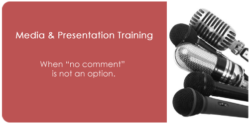 Media & Presentation Training
